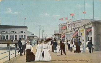 Easter Crowd on the Boardwalk, Ocean City, NJ 1911