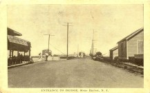 Entrance to Bridge, Stone Harbor, NJ