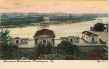 Fairmount Waterworks, Philadelphia, PA 1908