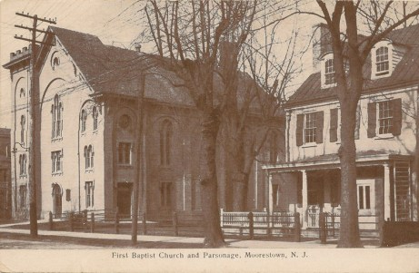 First Baptist Church and Parsonage, Moorestown, NJ