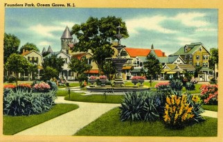 Founders Park, Ocean Grove, NJ