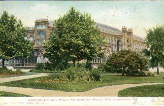 Horticultural Hall, Fairmount Park, Philadelphia, PA 1905