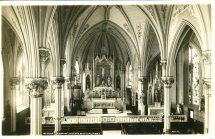 Interior Church of Our Lady Help Christians, Philadelphia