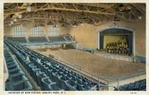 Interior of New Casino, Asbury Park, NJ