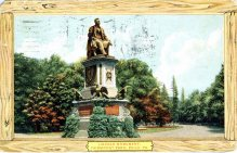 Lincoln Monument, Fairmount Park, Philadelphia, PA 1908