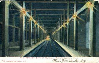 Market Street Subway, Philadelphia 1906