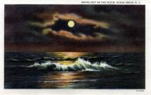Moonlight on the Ocean, Ocean Grove, NJ