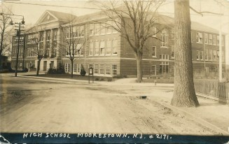Moorestown High School RPPC 1924