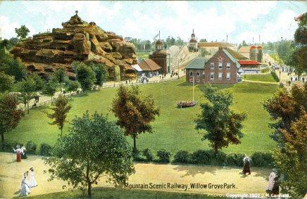 Mountain Scenic Railway, Willow Grove Park, PA 1907