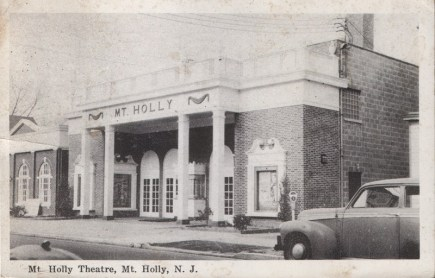 Mt Holly Theatre, Mt. Holly, NJ 1955