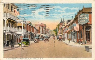 Mt. Holly Main Street c.1928