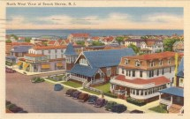 North West View of Beach Haven, NJ 1949