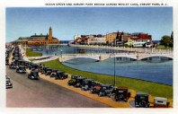 Ocean Grove and Asbury Park Bridge Across Wesley Lake, Asbury Park, NJ
