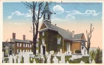Old Swede's Church, Philadelphia, PA