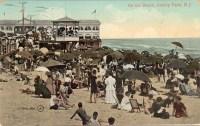 On the Beach, Asbury Park, NJ 1910 [