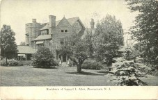 Residence of Samuel L. Allen, Moorestown, NJ
