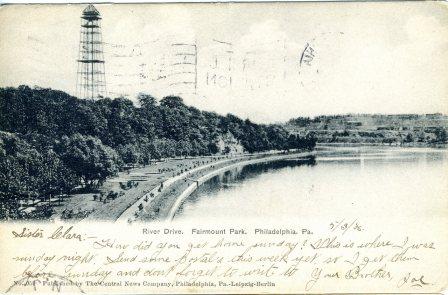 River Drive, Fairmount Park, Philadelphia, PA 1906