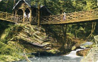 Rustic Bridge, Devil's Pool, Wissahickon 1908