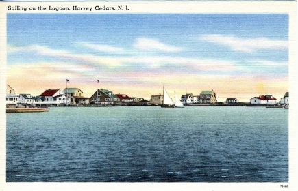 Sailing on the Lagoon, Harvey Cedars, NJ