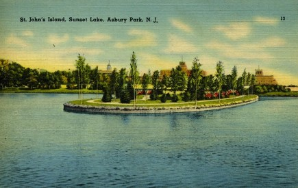 St. John's Island, Sunset Lake, Asbury Park, NJ