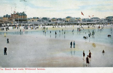 The Beach That Made Wildwood Famous 1909