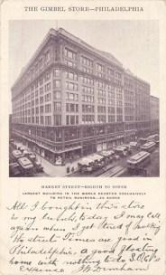 The Gimbel Store, Philadelphia, PA