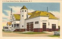 USCG Station, Ship Bottom, NJ 1951