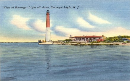 View of Barnegat Light Offshore, Barnegat Light, NJ