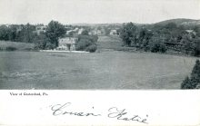 View of Gratersford, PA 1908