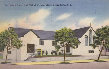 Lutheran Church at 10th & Central Ave., Ocean City, NJ