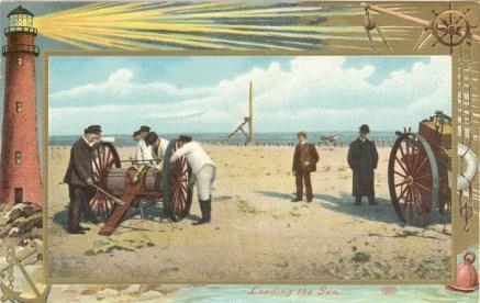 1909 Loading the Gun