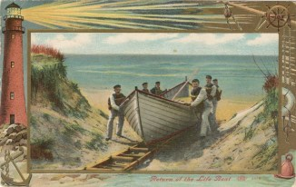 1909 Return of the Life Boat
