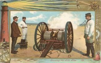1909 Shooting the Life Line
