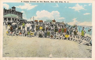 A Happy Crowd on the Beach, Sea Isle City, NJ