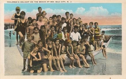 Children's Delight on the Beach at Sea Isle City, NJ