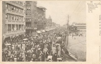 Easter Sunday Parade on Boardwalk, Atlantic City, NJ 1907