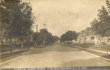Linden from Maple Ave., Collingswood, NJ A-506