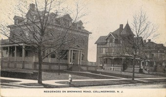 Residences on Browning Road, Collingswood, NJ