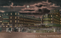 Shelburne Hotel by Moonlight, Atlantic City, NJ