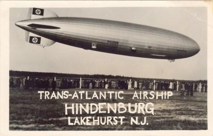Trans-Atlantic Airship Hindenburg, Lakehurst, NJ 1936 [800x511]