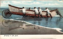 USLSS Bringing in Life Boat