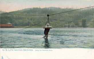 USLSS Using the Breeches Buoy