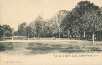 View in Knight's Park, Collingswood, NJ