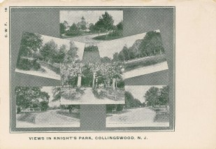 Views in Knight's Park, Collingswood, NJ