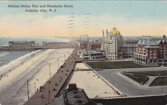 Million Dollar Pier and Blenheim Hotel, Atlantic City, NJ