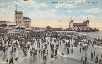 Beach and Garden Pier, Atlantic City, NJ