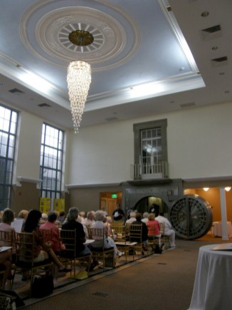 The interior of the newly renovated Bank on Main