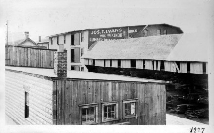 012_ 1927 Another view of lumber yard - J.F. Yearly photo