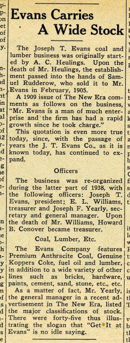 019_1939 Anniv Issue New Era sec8 p1 JT Evans - courtesy Mr. DeVece