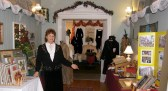 Curator Mrs. Cheryl Smekal welcomed scores of visitors to our limited-engagement museum in 2011